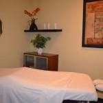 Private Massage Therapy and Accupuncture rooms